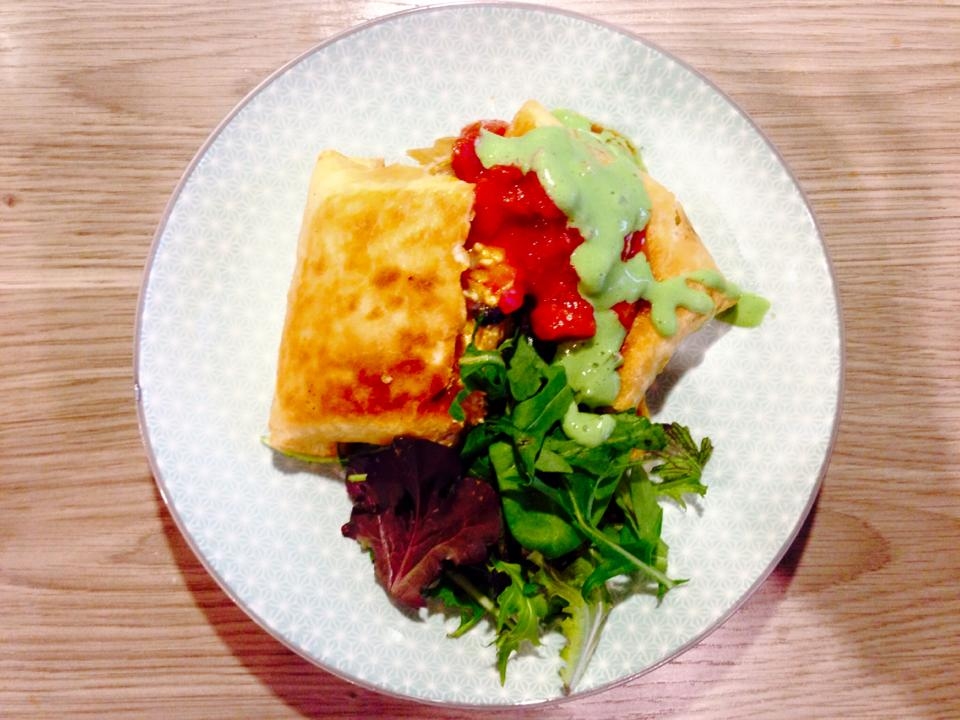 Three words…  Deep fried burrito…  | Im a little vegan